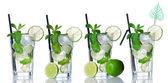 Accumulazione del cocktail Mojito — Foto Stock