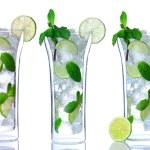 Mojito cocktails in glasses — Stock Photo #83333208