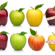 Apples cconcept collection — Stock Photo #83333854