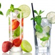 Mojito cocktails collection — Stock Photo #83344422