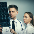Medical doctors team — Stock Photo #84608156