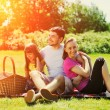 Happy Family on picnic — Stock Photo #84608370