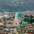 Jewish Synagogue of Florence from top — Stock Photo #52522575