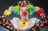 Funny clown in humor concept — Stock Photo