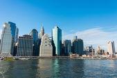 Panorama of downtown Manhattan — Stock Photo