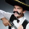 Funny mexican with sombrero in concept — Stock Photo #53430435