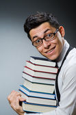 Funny student — Stock Photo