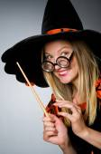 Witch doing her dirty tricks  — Stock Photo
