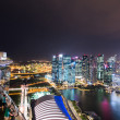 Panorama of Singapore skyline downtown — Stock Photo #53862119