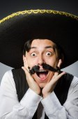 Mexican man in funny concept — Stock Photo