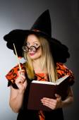 Witch doing her dirty tricks — Photo