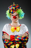 Funny clown in humor concept — Stock Photo