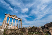 Ruins in ancient Roma on summer day — Stock Photo