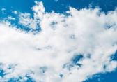 Cloudscape of bright blue sky — Stock Photo