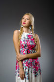 Young woman in fashion concept — Foto Stock