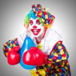 Clown with balloons — Stock Photo #57239037