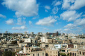 Vista de Bakú Azerbayán en día brillante de verano — Foto de Stock