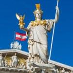 Постер, плакат: Austrian Parliament in Vienna