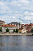 View of Vltava river in Prague — Stock Photo