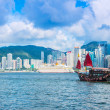 Постер, плакат: Hong Kong Victoria Harbour