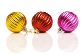 Christmas decorations in festive holiday concept — Stockfoto