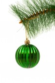 Christmas decoration isolated on the white — Stockfoto