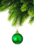 świąteczne dekoracje na białym tle — Zdjęcie stockowe