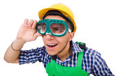 Industrial man worker — Stock Photo