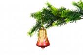 Christmas decoration isolated on the white — Stock Photo