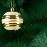 Christmas decoration on the fir tree — Stock Photo #59175331