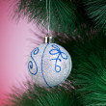 Christmas decoration on the fir tree — Stock Photo #59175531