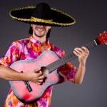 Man playing guitar — Stock Photo #59186007