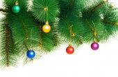 Christmas decoration isolated on the white — Foto de Stock