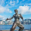 Постер, плакат: Bruce Lee Statue in China