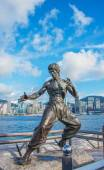 Bruce Lee Statue in China — Stock Photo