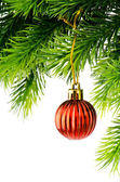 Decorazione di Natale isolato su bianco — Foto Stock
