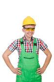 Industrial worker in helmet — Stock Photo