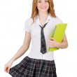 Young girl student — Stock Photo #60114699