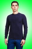 Male sweater closeup — Stock Photo