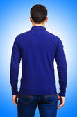 Male sweater isolated on the white — Stock Photo