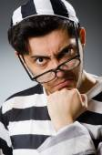 Young prison inmate — Stock Photo