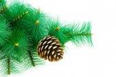 Christmas decoration on Christmas tree — Stock Photo