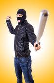 Male adult thug — Stock Photo