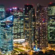 Panorama of Singapore skyline downtown — Stock Photo #65643557