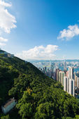 Weergave van hong kong — Stockfoto