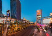 Famous Las Vegas casinos — Stockfoto