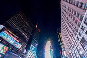 Náměstí Times square v usa, new york. — Stock fotografie