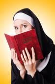 宗教的な概念の修道女 — ストック写真