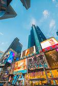 New York - DECEMBER 22, 2013: Times Square on December 22 in USA — Stock Photo