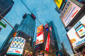 Times Square on December — Stock Photo